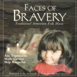 Topouzian, Ara - Faces of Bravery CD Cover Art