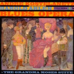 Martin, Hugh - Grandma Moses Suite; Arlen: Blues Opera Suite CD Cover Art