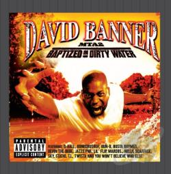 Banner, David - MTA2: Baptized in Dirty Water CD Cover Art