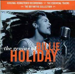 Holiday, Billie - Genius Of Billie Holiday CD Cover Art