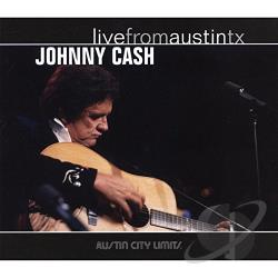 Cash, Johnny - Live from Austin TX CD Cover Art