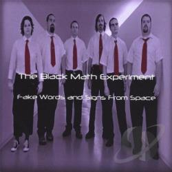 Black Math Experiment - Fake Words & Signs From Space CD Cover Art