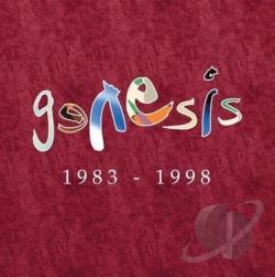 Genesis - Genesis 1983-1998 CD Cover Art