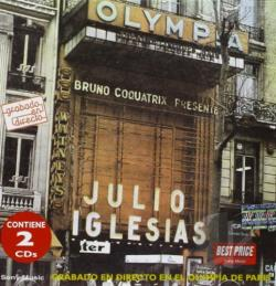 Iglesias, Julio - En el Olympia CD Cover Art
