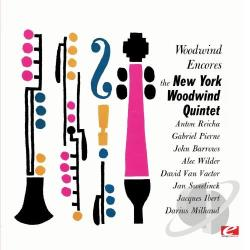 New York Woodwind Quintet - Woodwind Encores CD Cover Art