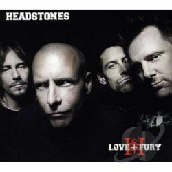 Headstones - Love & Fury CD Cover Art