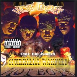 Hot Boys - Guerrilla Warfare CD Cover Art