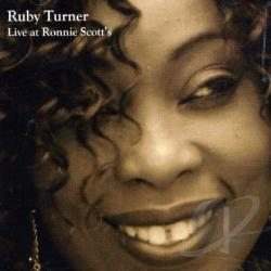 Turner, Ruby - Live At Ronnie Scotts CD Cover Art