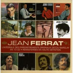 Ferrat, Jean - L'Integrale des Enregistrements Originaux: Decca/Barclay 1961-1972 CD Cover Art