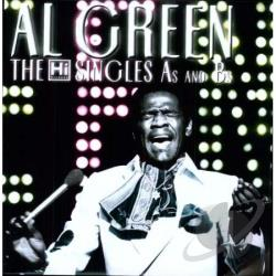 Green, Al - Hi Singles A's and B's LP Cover Art