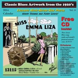 Classic Blues Artwork From the 1920's, Vol. 11 CD Cover Art