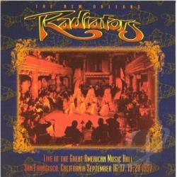 Radiators - Live At The Great American Music Hall CD Cover Art