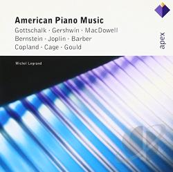 Legrand, Michel - American Piano Music CD Cover Art