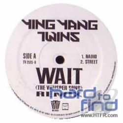 Ying Yang Twins - Wait (The Whisper Song) Remix LP Cover Art