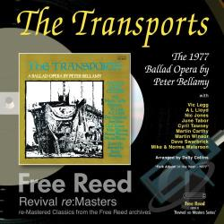 Bellamy, Peter - Transports: A Ballad Opera by Peter Bellamy CD Cover Art