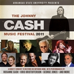 Various Artists - Johnny Cash Music Festival 2011 DB Cover Art