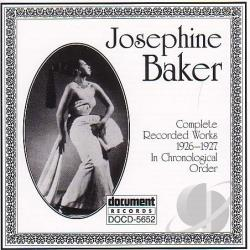 Baker, Josephine - Complete Recorded Works: 1926-27 CD Cover Art