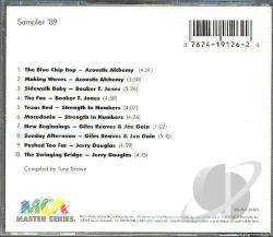 MCA Master Series Sampler '89 CD Cover Art