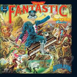 John, Elton - Captain Fantastic & The Brown Dirt Cowboy CD Cover Art