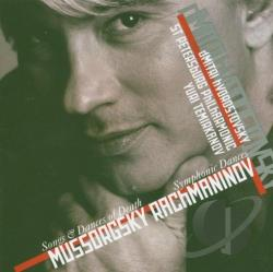 Hvorostovsky / Mussorgsky / Sppo / Temirkanov - Mussorgsky: Songs and Dances of Death; Rachmaninov: Symphonic Dances CD Cover Art