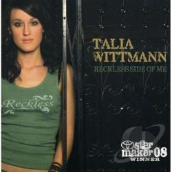 Wittman, Talia - Reckless Side Of Me CD Cover Art