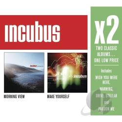 Incubus - X2: Morning View/Make Yourself CD Cover Art