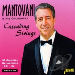 Mantovani - Cascading Strings CD Cover Art