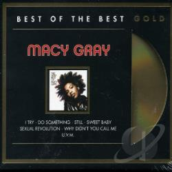 Gray, Macy - Best Of The Best (Gold Disc) CD Cover Art
