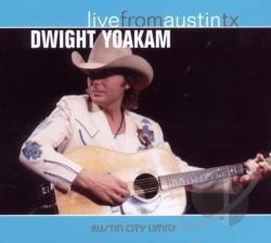 Yoakam, Dwight - Live from Austin TX CD Cover Art