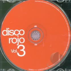 Disco Rojo V.3 CD Cover Art