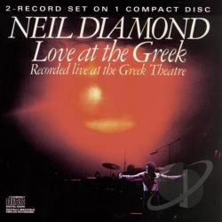 Diamond, Neil - Love at the Greek CD Cover Art