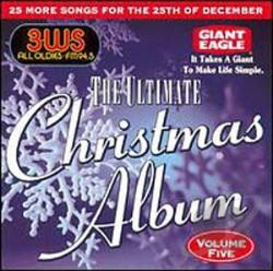 Ultimate Christmas Album, Vol. 5: WJMK 104.3 FM Chicago CD Cover Art