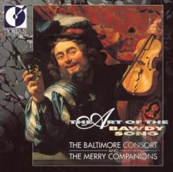 Companions / Consort, Baltimore - Art of the Bawdy Song CD Cover Art