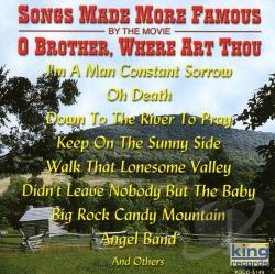 Songs Made More Famous By The Movie O Brother, Where Art Thou CD Cover Art