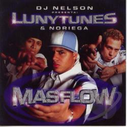 Luny Tunes & Noriega - Mas Flow CD Cover Art