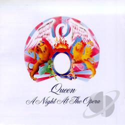Queen - Night At The Opera CD Cover Art