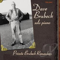 Brubeck, Dave - Private Brubeck Remembers CD Cover Art