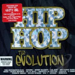 Hip-Hop: The Evolution CD Cover Art