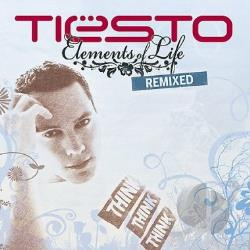 Tiesto - Elements of Life: Remixed CD Cover Art