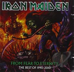 Iron Maiden - From Fear to Eternity: The Best of 1990-2010 CD Cover Art