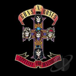 Guns N' Roses - Appetite for Destruction CD Cover Art