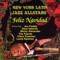 New York Latin Jazz Allstars: Feliz Navidad CD Cover Art