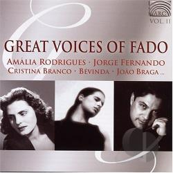 Great Voices Of Fado, Vol. 2 CD Cover Art