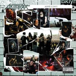Anthrax - Alive 2: The Music CD Cover Art