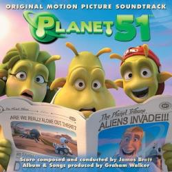 Planet 51 CD Cover Art