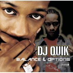 DJ Quik - Balance & Options CD Cover Art