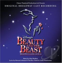 Original Broadway Cast - Beauty and the Beast CD Cover Art