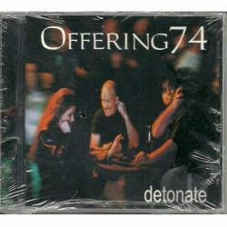 Offering74 - Detonate CD Cover Art