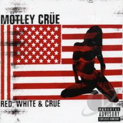 Motley Crue - Red White & Crue CD Cover Art