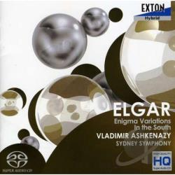 Ashkenazy:cnd / Symphon, Sydney - Elgar: Enigma Variations; In the South CD Cover Art